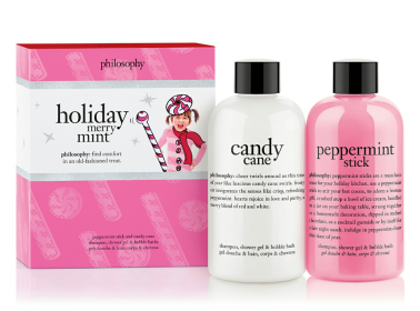 Philosophy, Holiday Merry Mint duo, $23. Available at philosophy.com.