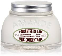 L'Occitane Almond Milk Concentrate.