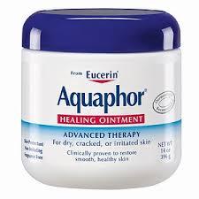 Aquaphor Healing Ointment.