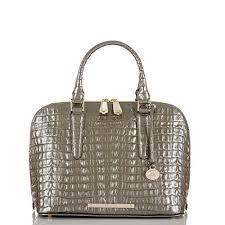 Brahmin Vivian Dome satchel.