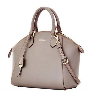 Dooney and Bourke Sabrina satchel. Available at dooney.com.