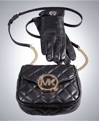Michael Kors Luxe Leather gift set, $266. Available at macys.com.
