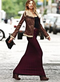 MAXI SKIRTS FOR WINTER   The Beautorialist
