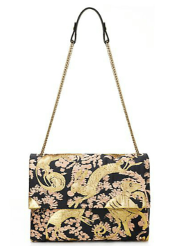 Lanvin Sugar Medium Brocade Shoulder Bag