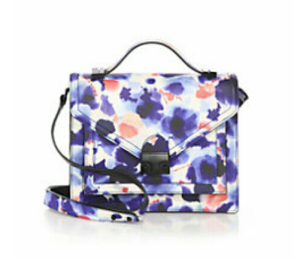 Loeffler Randall Rider Mini Floral Shoulder Bag