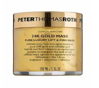 Peter Thomas Roth 24K Gold Mask Pure Luxury Lift & Firm Mask $80