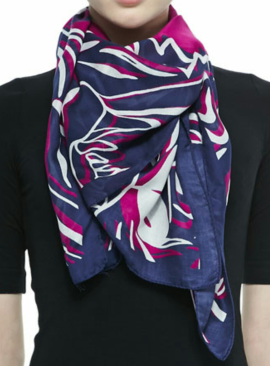 Kenzo Four Tigers Printed Scarf $230