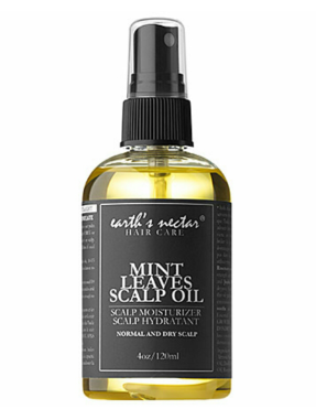 Earth's Nectar Mint Leaves Scalp Oil $18.50