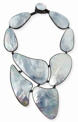 Viktoria Hayman Mother-of-Pearl Statement Necklace $450