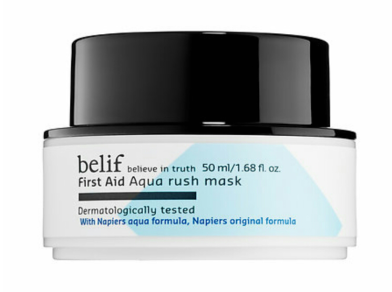 Belif First Aid Aqua Rush Mask $34