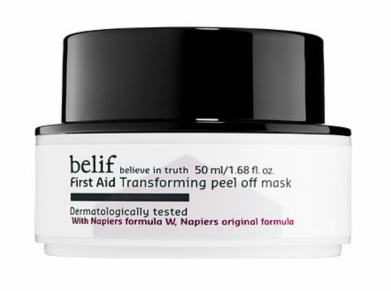 Belif First Aid Transforming Peel Off Mask $34