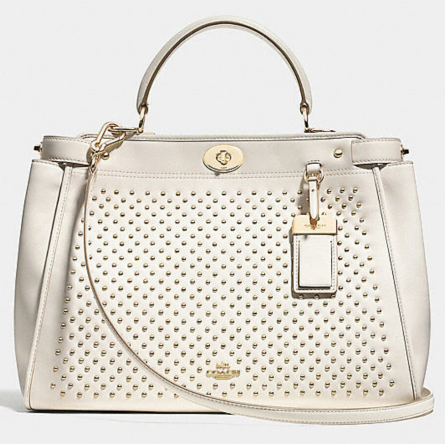 Coach Gramercy Satchel in Studded Leather $795