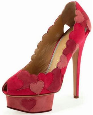 Love Me Heart Applique Pump