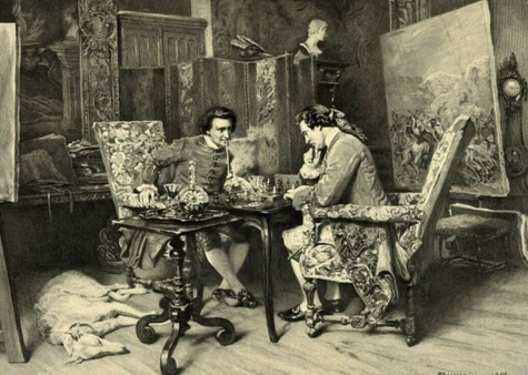 A Game of Chess, Jules Jacquet