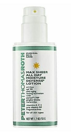 Peter Thomas Roth Max Sheer All Day Moisture Defense Lotion $42