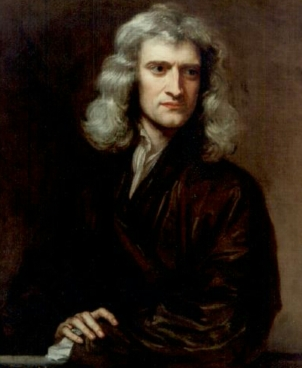 Portrait of Sir Isaac Newton-Godfrey Kneller