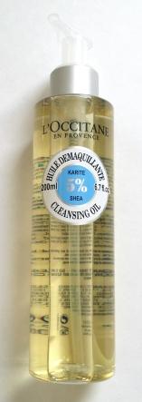 L'Occitane Shea Clensing Oil $22
