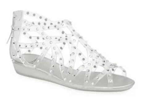 Stuart Weitzman Glogladius Jelly Sandal $245