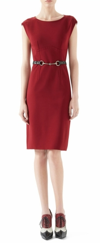 Viscose Jersey Belted Dress