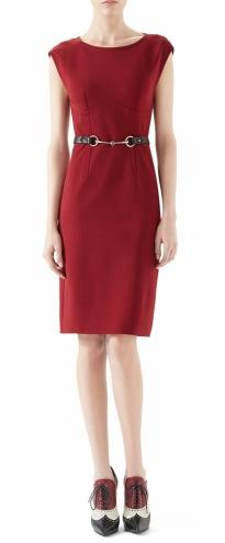 Viscose Jersey Belted Dress