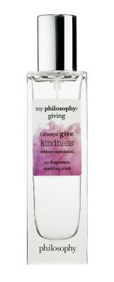 My Philosophy, Giving