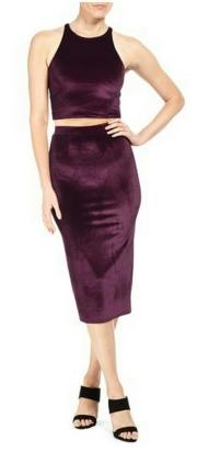 Rachel Pally Velvet Nori Skirt and Laila Top $81.60-$120.60