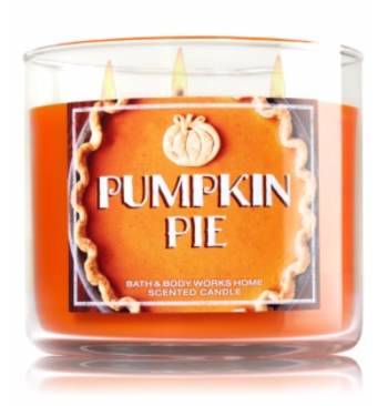 Bath and Body Works Pumpkin Pie # Wick Candle $22