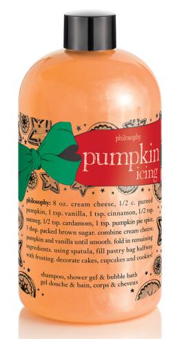 Philosophy Pumpkin Icing Shower Gel $18