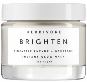 Herbivore Brighten Pineapple Enzyme Gemstone Instant Glow Mask $48