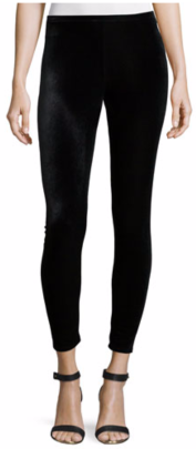 Eileen Fisher Stretch Velvet Ankle Leggings $138