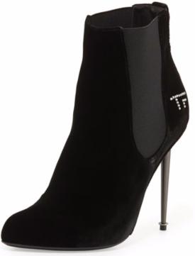 TOM FORD TF Velvet Ankle Bootie $819