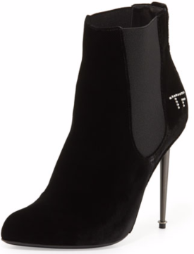 TOM FORD TF Velvet Ankle Bootie $819