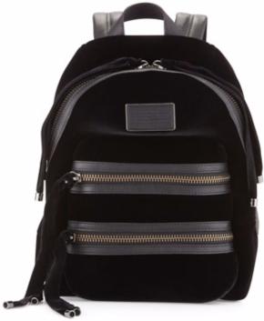 Marc by Marc Jacobs Domo Biker Velvet Backpack $498