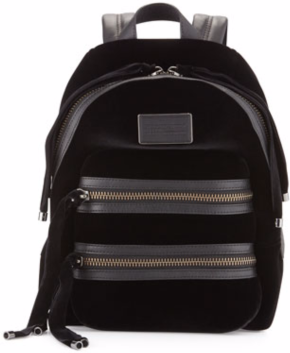 Marc by Marc Jacobs Domo Biker Velvet Backpack $498