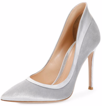 Gianvito Rossi Velvet High-Heel Pump $950