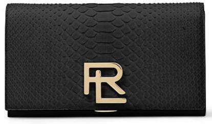The RL Clutch in Black Python