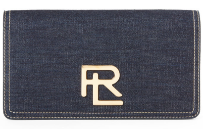 The RL Clutch in Denim