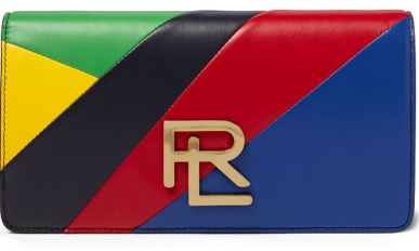 The RL Clutch in Multi Nappa Leather