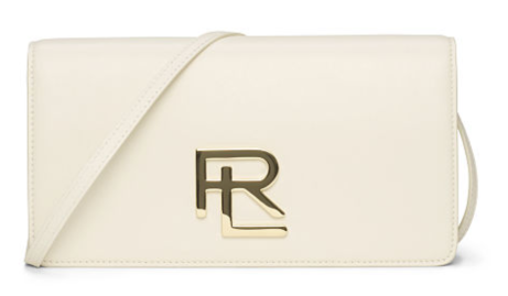 The RL Clutch in Cream Nappa Leather