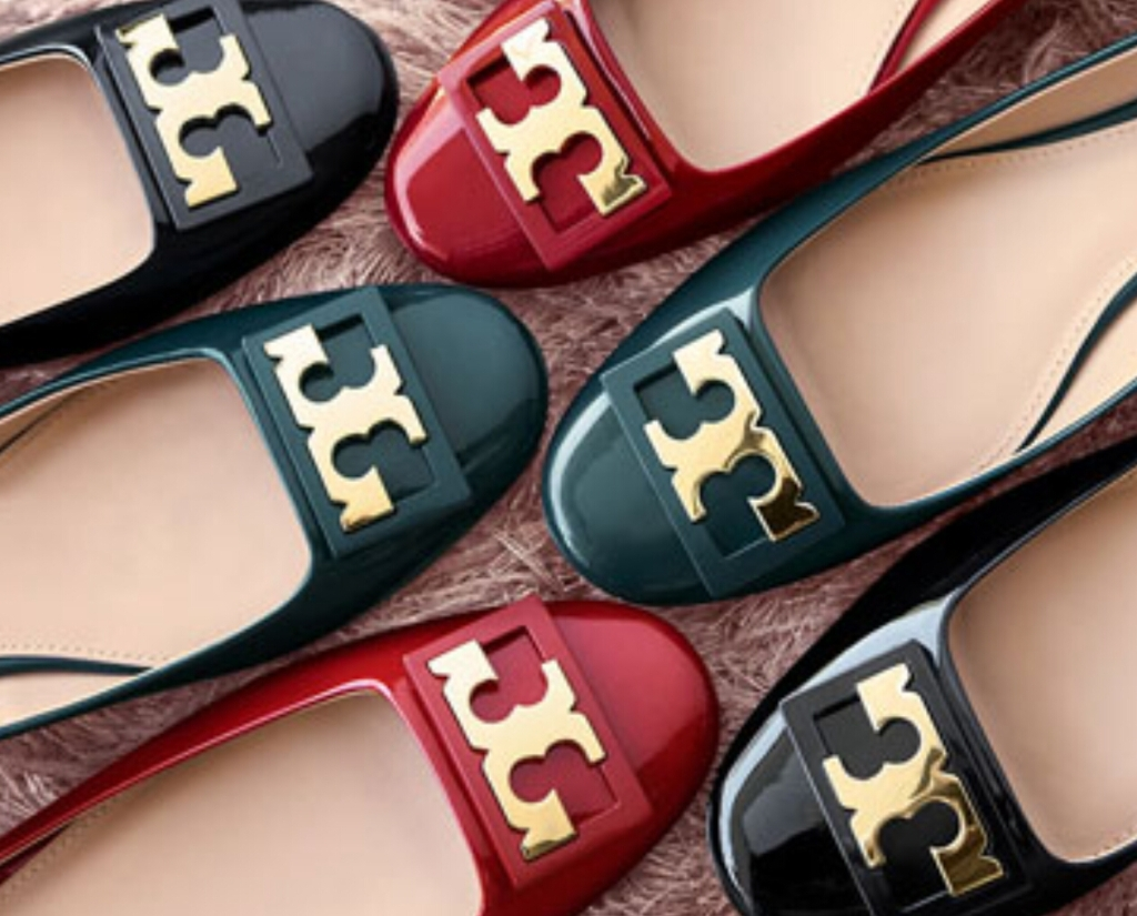 a553c822ca86 If you saw the top shelf of my closet, there would be no question as to  whether or not I love Tory Burch shoes! I practically live in my various Reva  flats ...