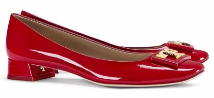 Tory Burch Gigi Pump in Redstone $275