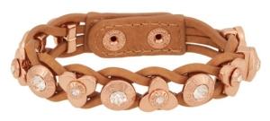 Petal Rivet Wrap in Rose Gold $78