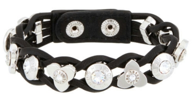 Petal Rivet Wrap in Black $78