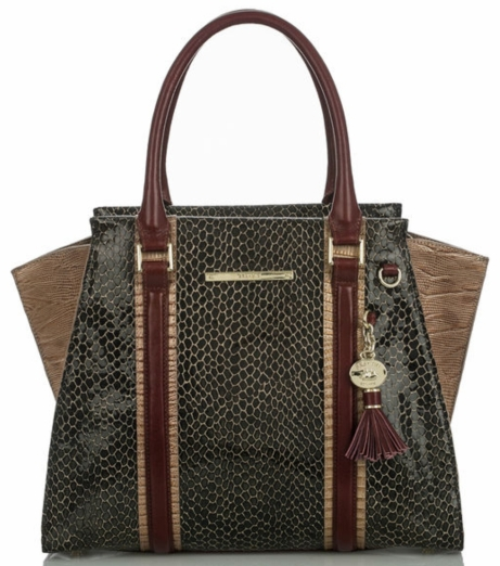 Priscilla Satchel in Brown Rooksbury $435