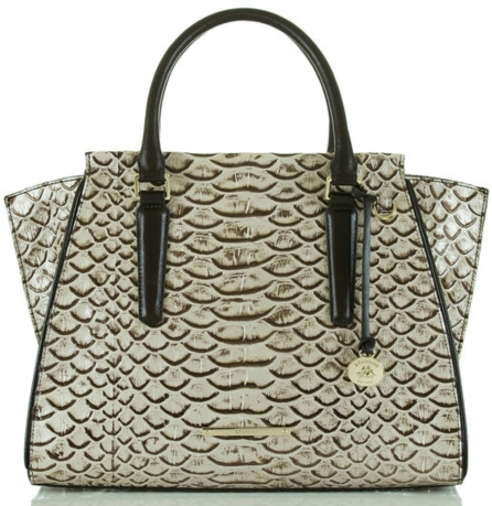Priscilla Satchel in Pearl Dogwood $415